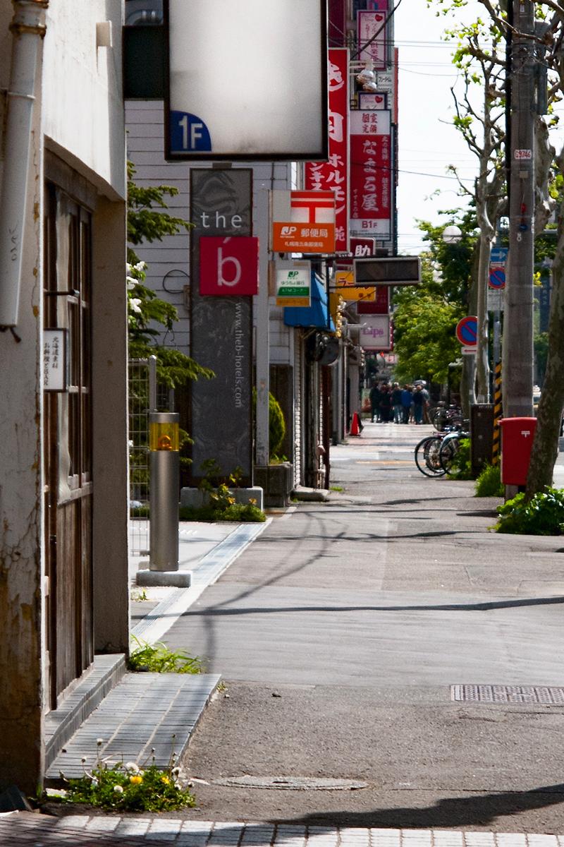 「すすきの」の街