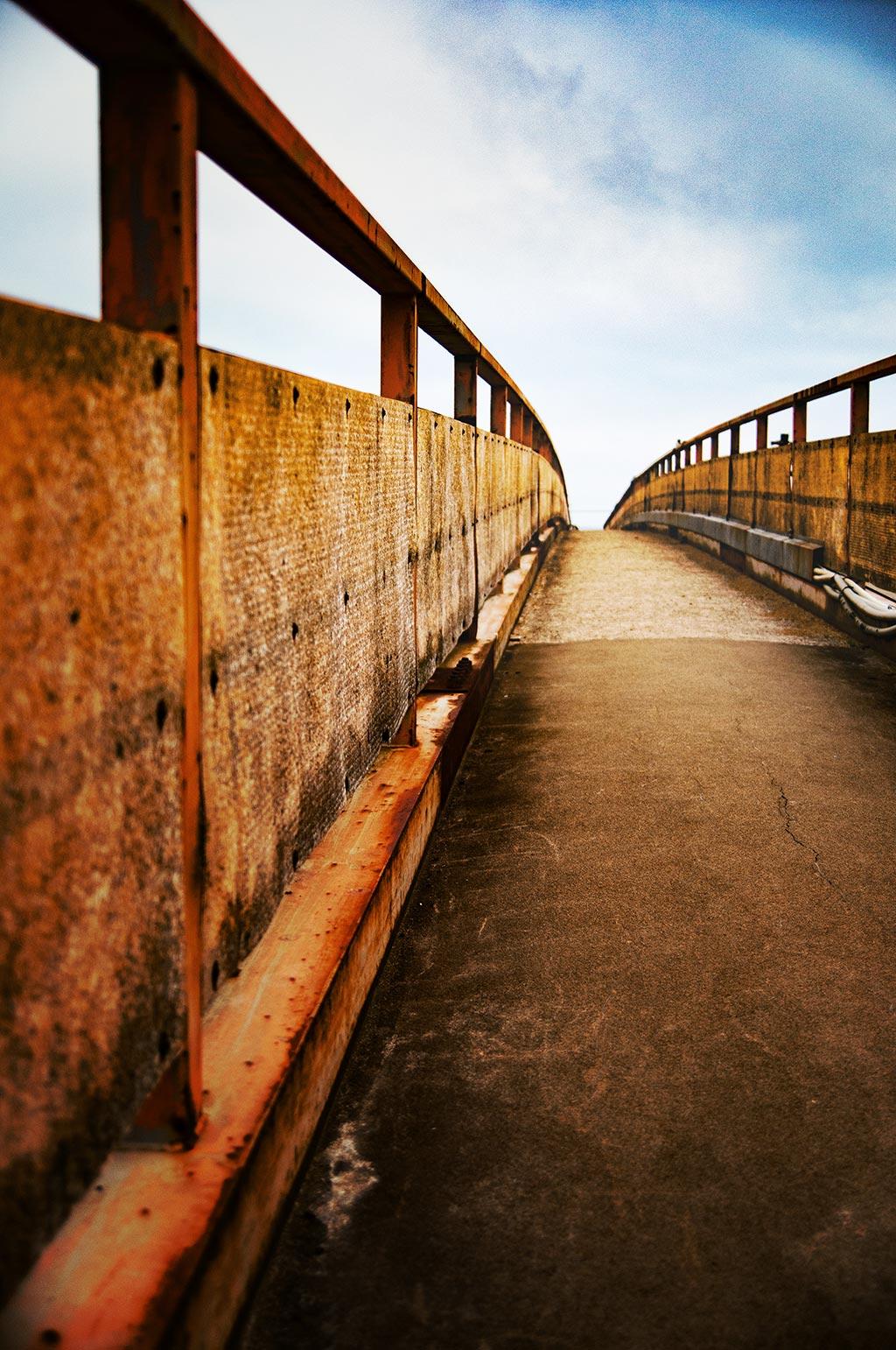 長万部の陸橋